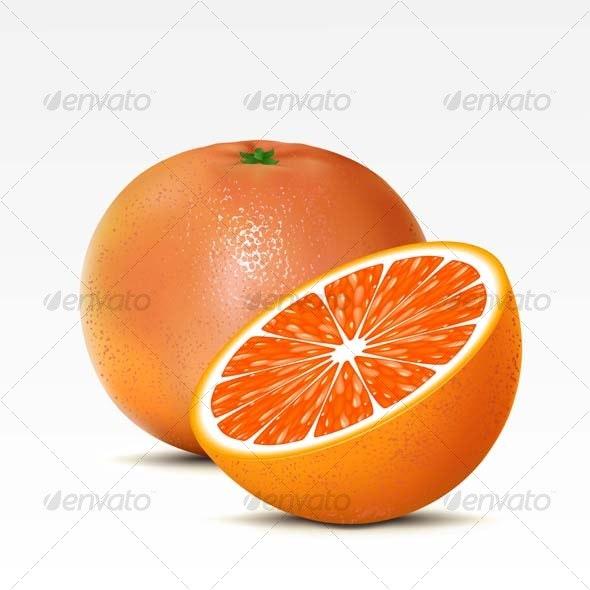 Grapefruit - Food Objects
