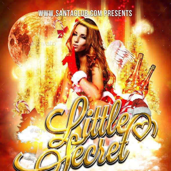 Flyer Santas Little Secret