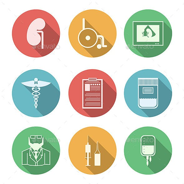 Colored Icons for Nephrology