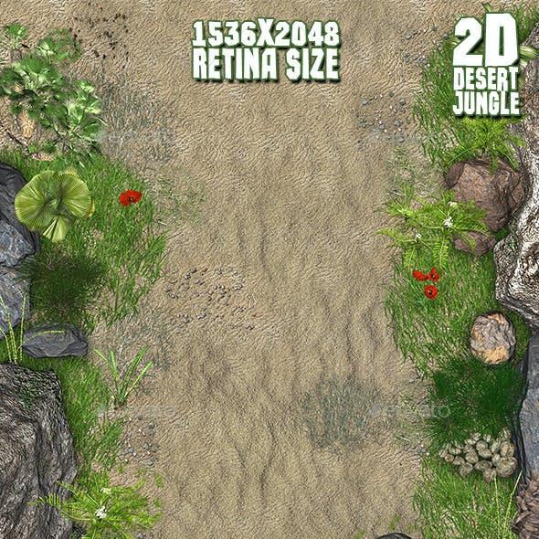 2D Desert Jungle Construction Set