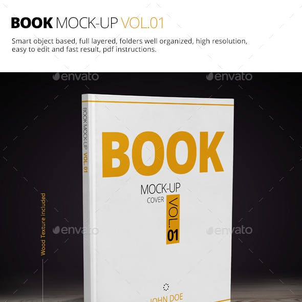 Book Mock-up Vol.01