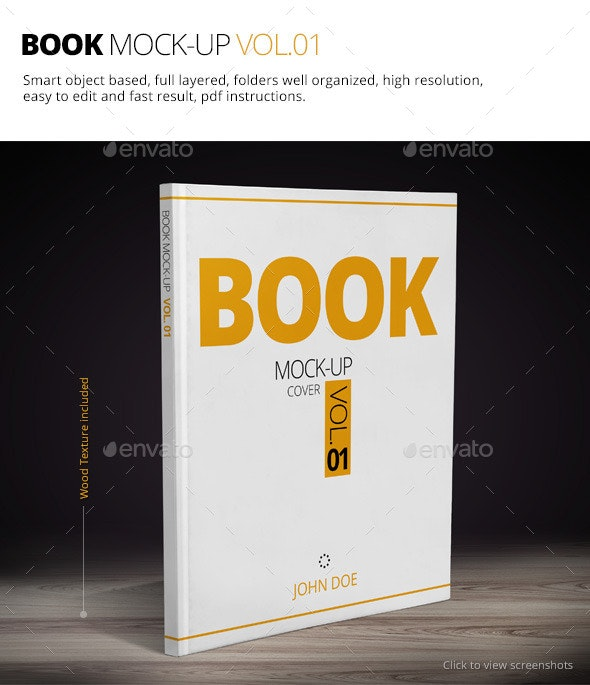 Book Mock-up Vol.01 - Books Print