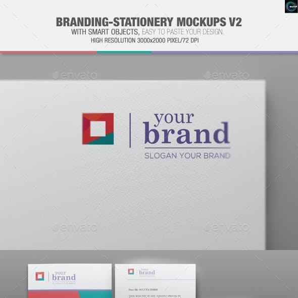 Branding-Stationery Mockups V2