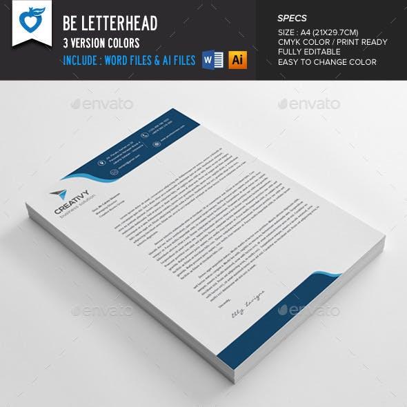 Be Letterhead