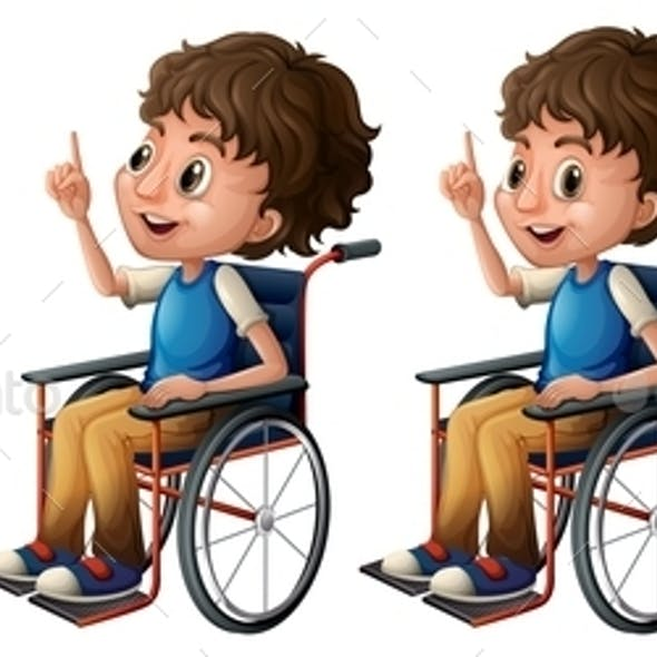 Boy on Wheelchair