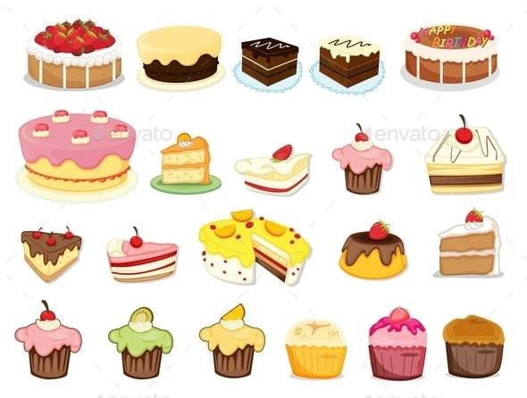 Cake Collection - Food Objects