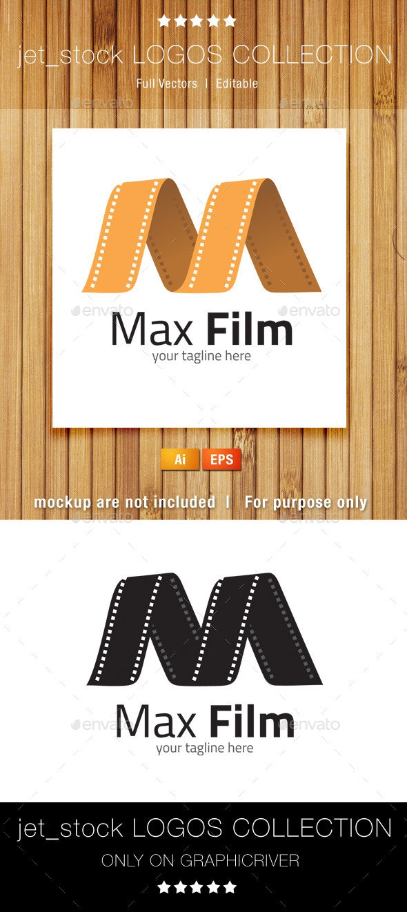 Max Film - Letters Logo Templates