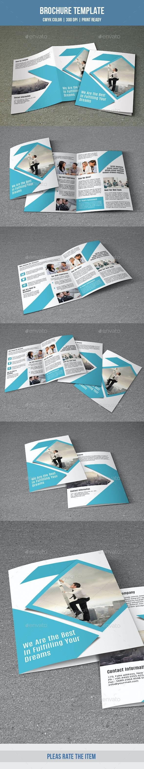 Corporate Bifold Brochure-V159 - Corporate Brochures