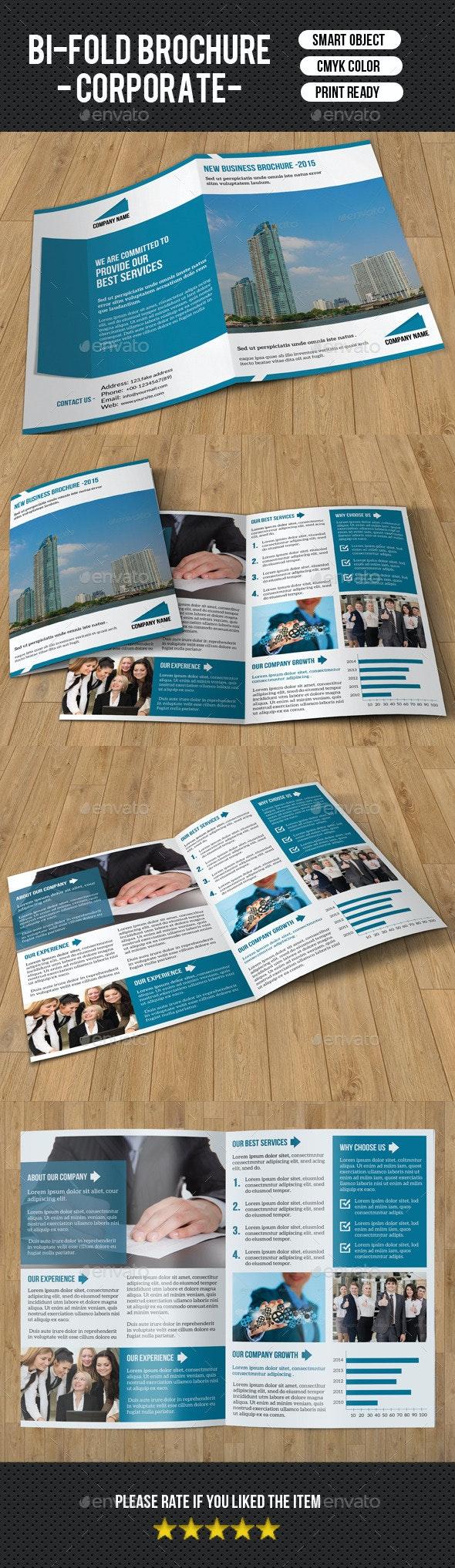 Bifold Business Brochure-V160 - Corporate Brochures