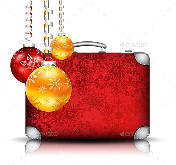 Christmas Suitcase - Christmas Seasons/Holidays