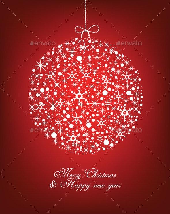 Merry Christmas Winter Background - Christmas Seasons/Holidays