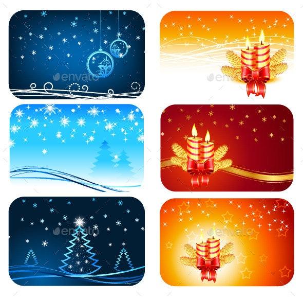 Christmas and Happy New Year Cards - Christmas Seasons/Holidays