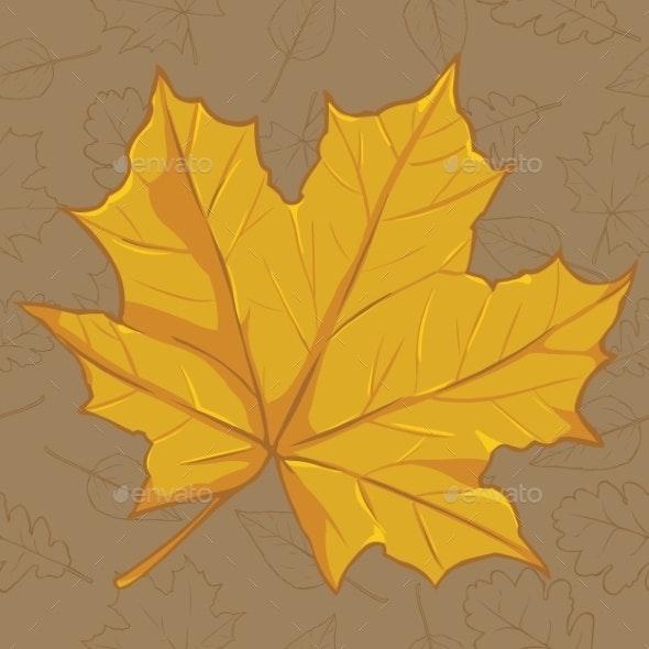 Cartoon Autumn Icon - Seasons Nature