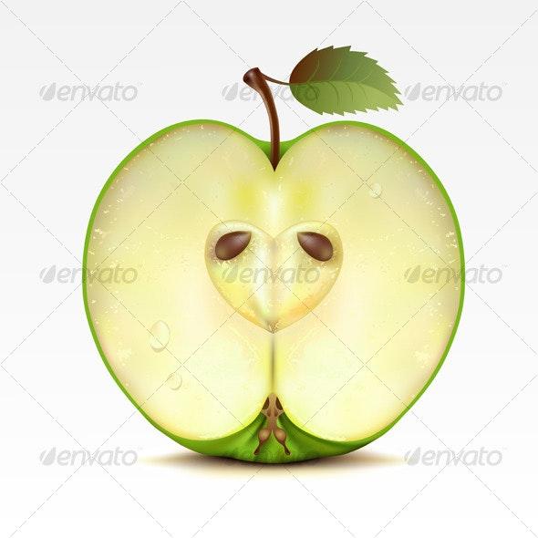 Apple - Food Objects