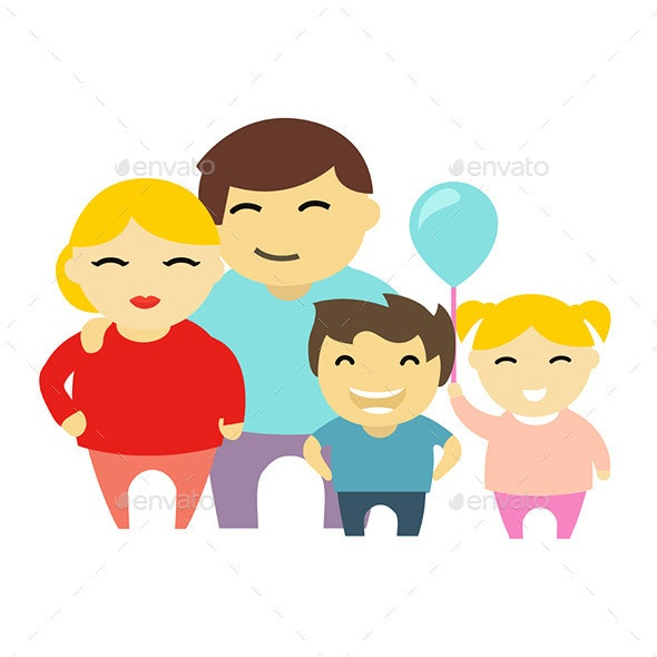 Family. - People Characters