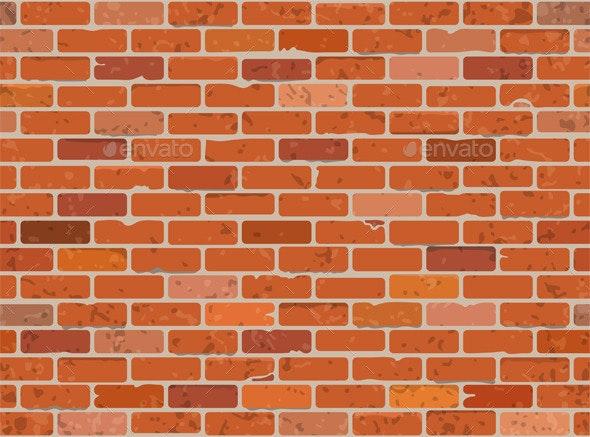 Seamless Brick Wall - Backgrounds Decorative