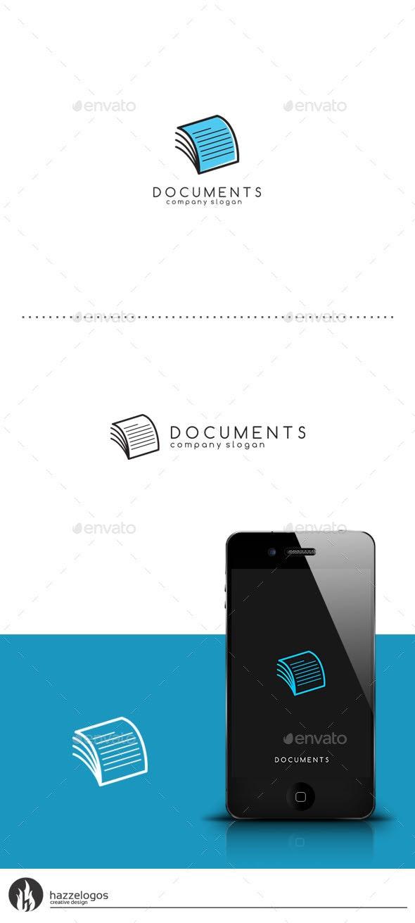 Documents Logo - Symbols Logo Templates
