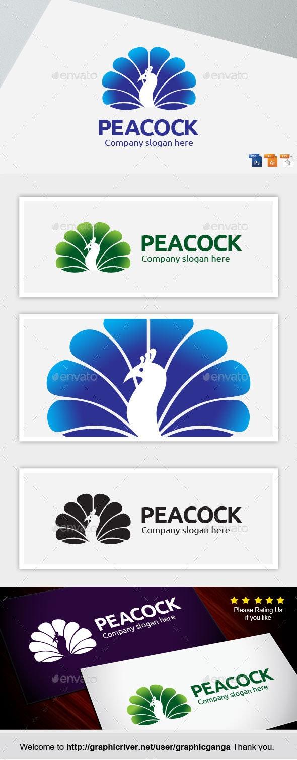 Peacock - Animals Logo Templates