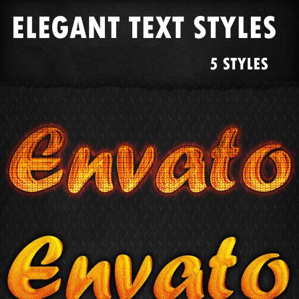 Elegant Text Styles