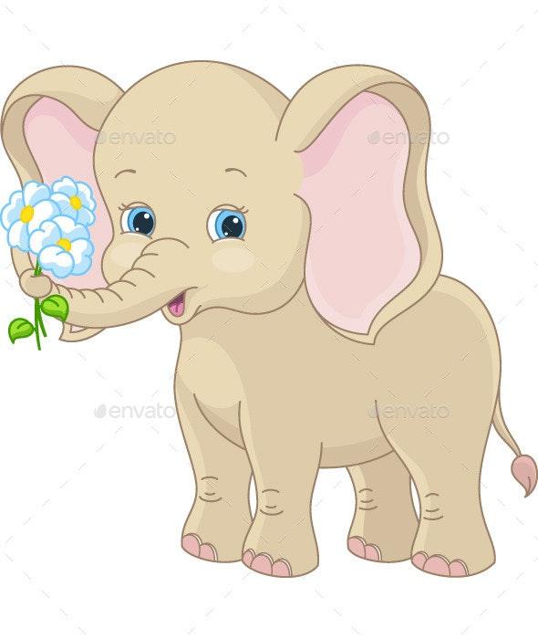 Baby Elephant - Animals Characters
