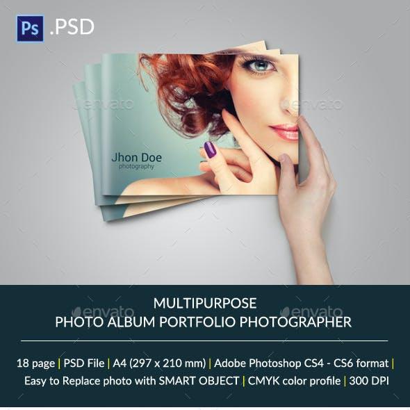 Multipurpose Brochure or Photo Album