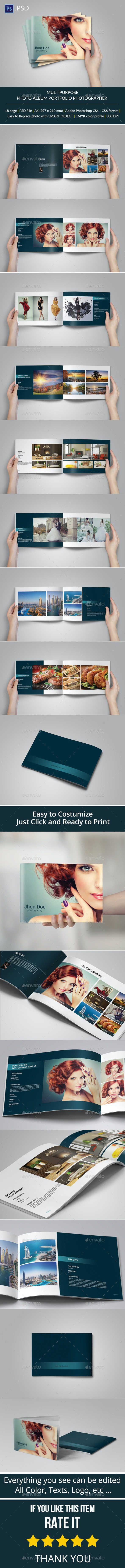 Multipurpose Brochure or Photo Album - Portfolio Brochures