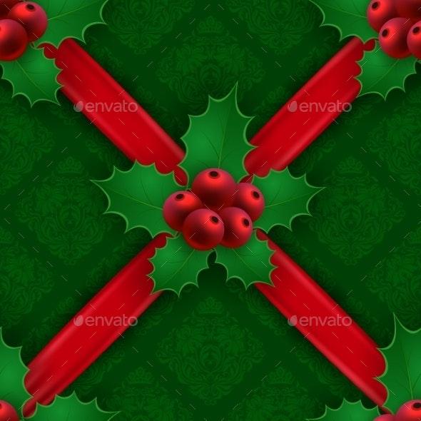 New Year's Seamless Background - Christmas Seasons/Holidays