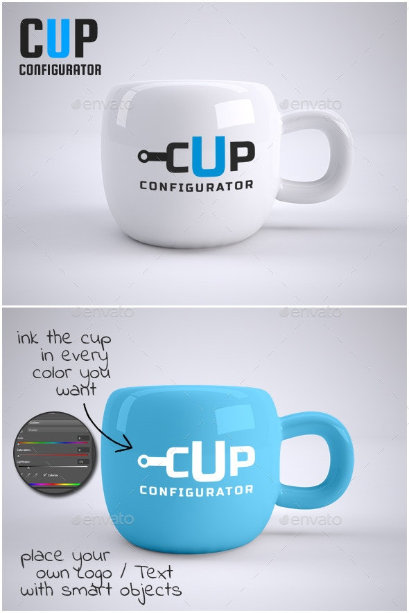 Cup Configurator - 3D Backgrounds