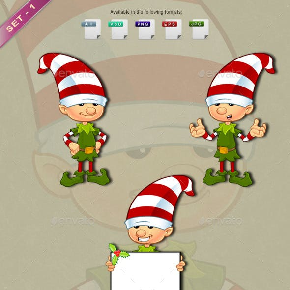 Elf Character – Set 1