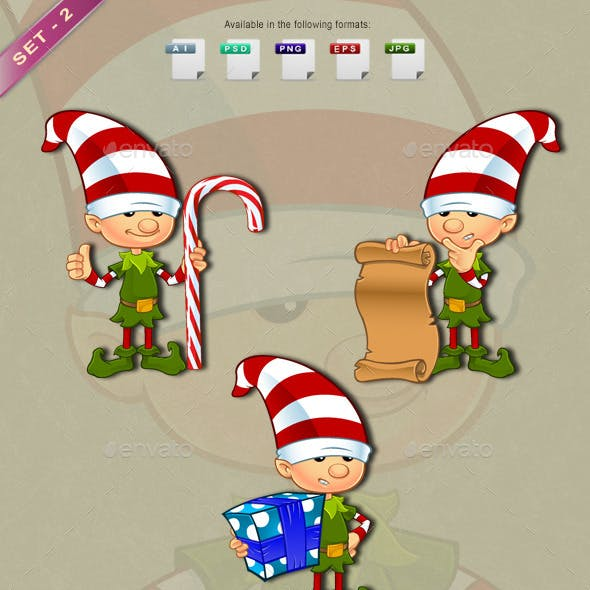 Elf Character – Set 2