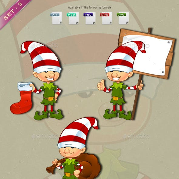 Elf Character – Set 3