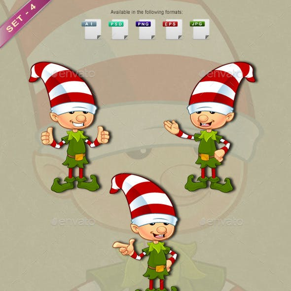 Elf Character – Set 4