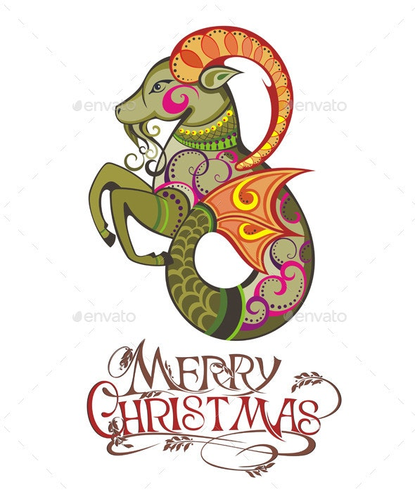 Happy 2015 Year of the Goat - Christmas Seasons/Holidays