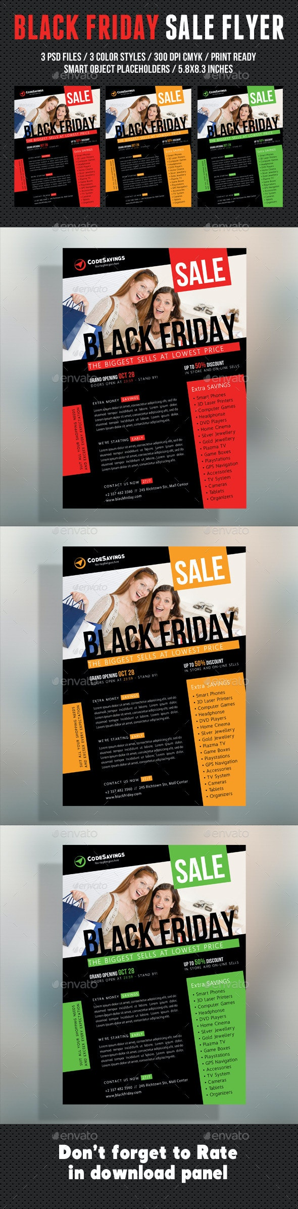 Black Friday Flyer V03 - Commerce Flyers