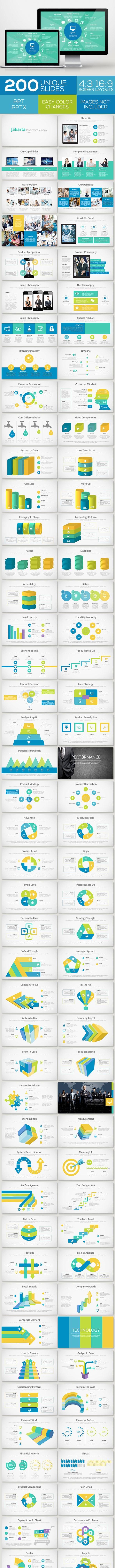 Jakarta Powerpoint Template Volume 3 - Business PowerPoint Templates