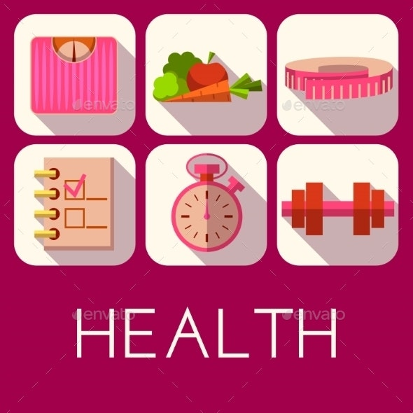 Health Icons - Health/Medicine Conceptual