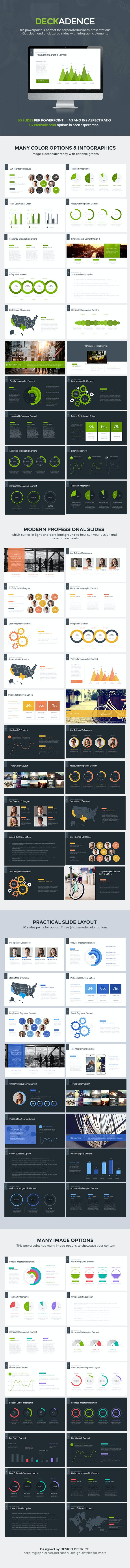 Decker Powerpoint Template - Pitch Deck PowerPoint Templates
