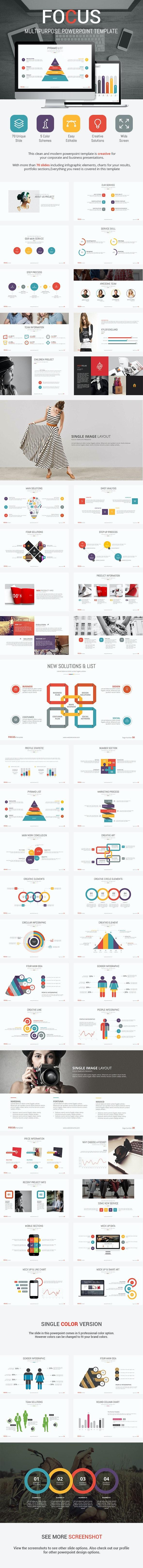 Focus - Presentation Template - Business PowerPoint Templates