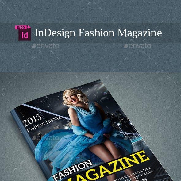 InDesign Fashion Magazine