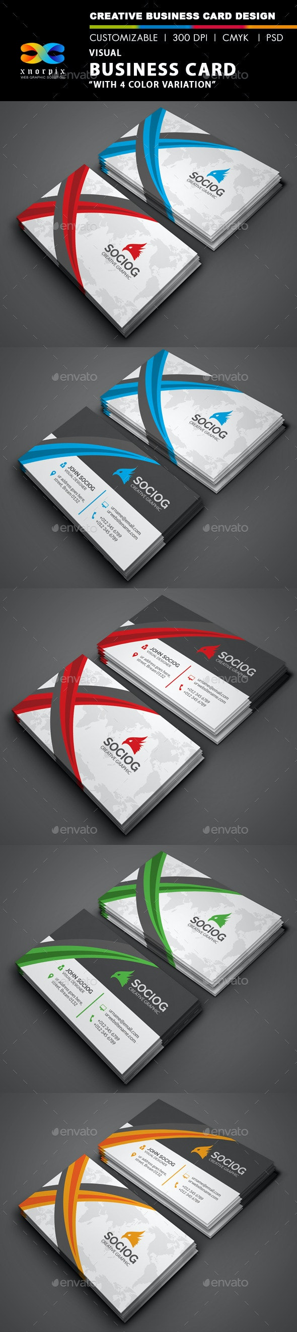 Visual Business Card - Corporate Business Cards