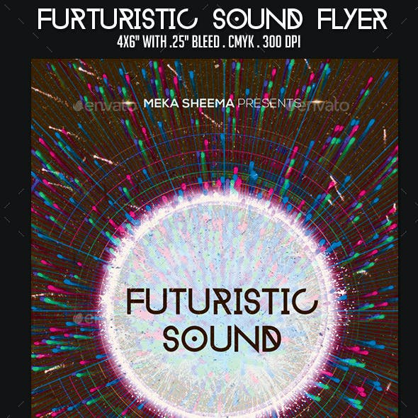 Futuristic Sound Flyer