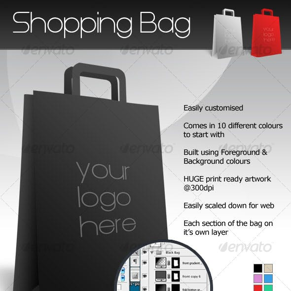 Customisable Shopping Bag