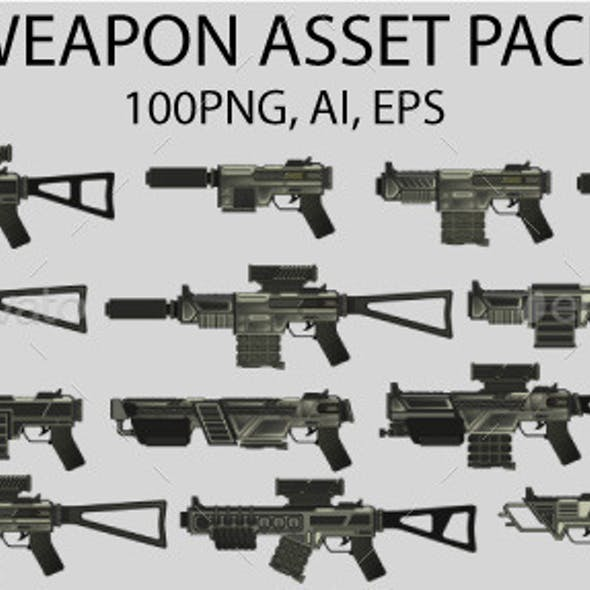 Weapon Game Asset