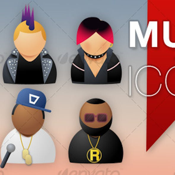 Musician Icons