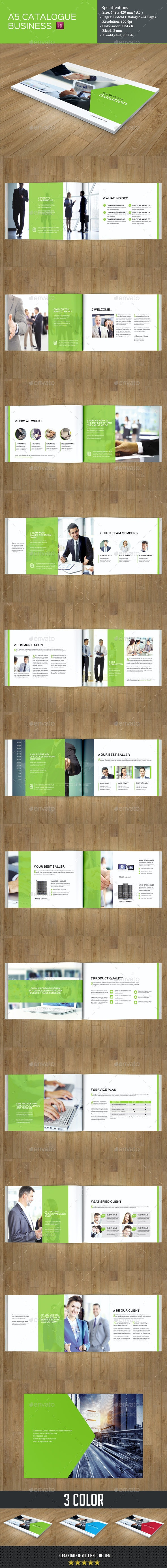 Business Catalog Template - Catalogs Brochures