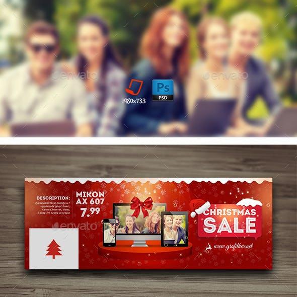 Christmas Sale Cover Templates