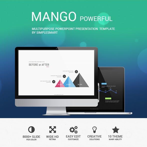 ManGo - Presentation Template