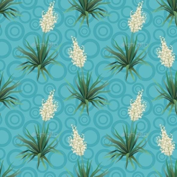 Yucca Flowers - Patterns Decorative
