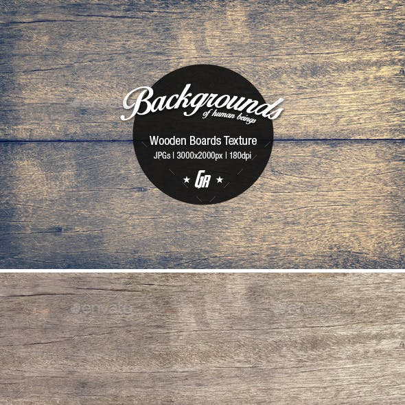 Wood Texture 002 - Wooden Boards