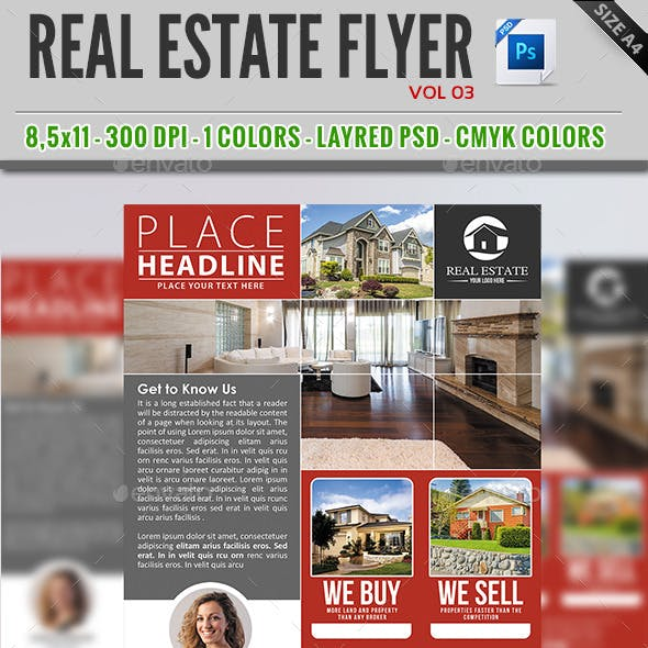 Real Estate Flyer Vol 03